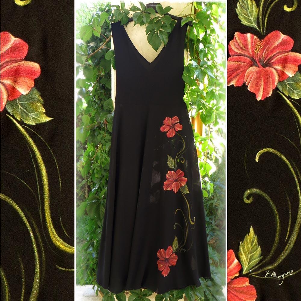 abito-nero-hibiscus