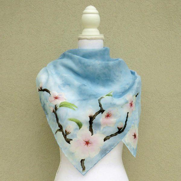 foulard ciliegio in fiore