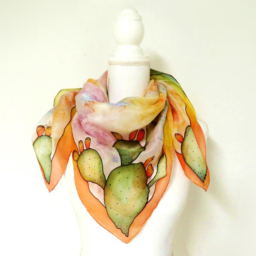 foulard-fichi-d-india-arancione
