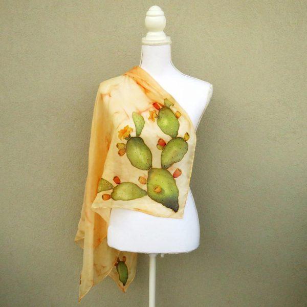foulard fichi d'india giallo