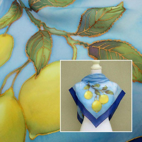 foulard limoni
