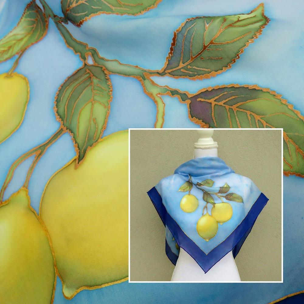 foulard-limoni