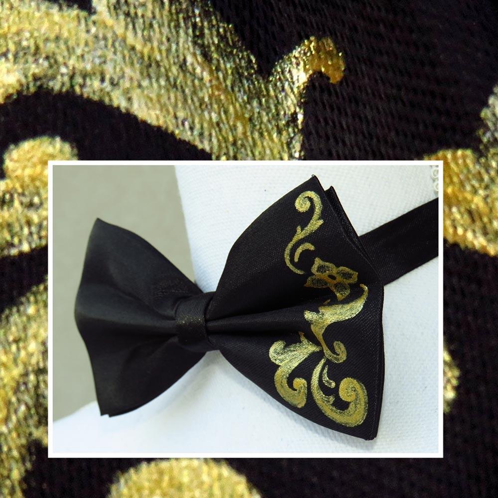 papillon-nero-oro-barocco