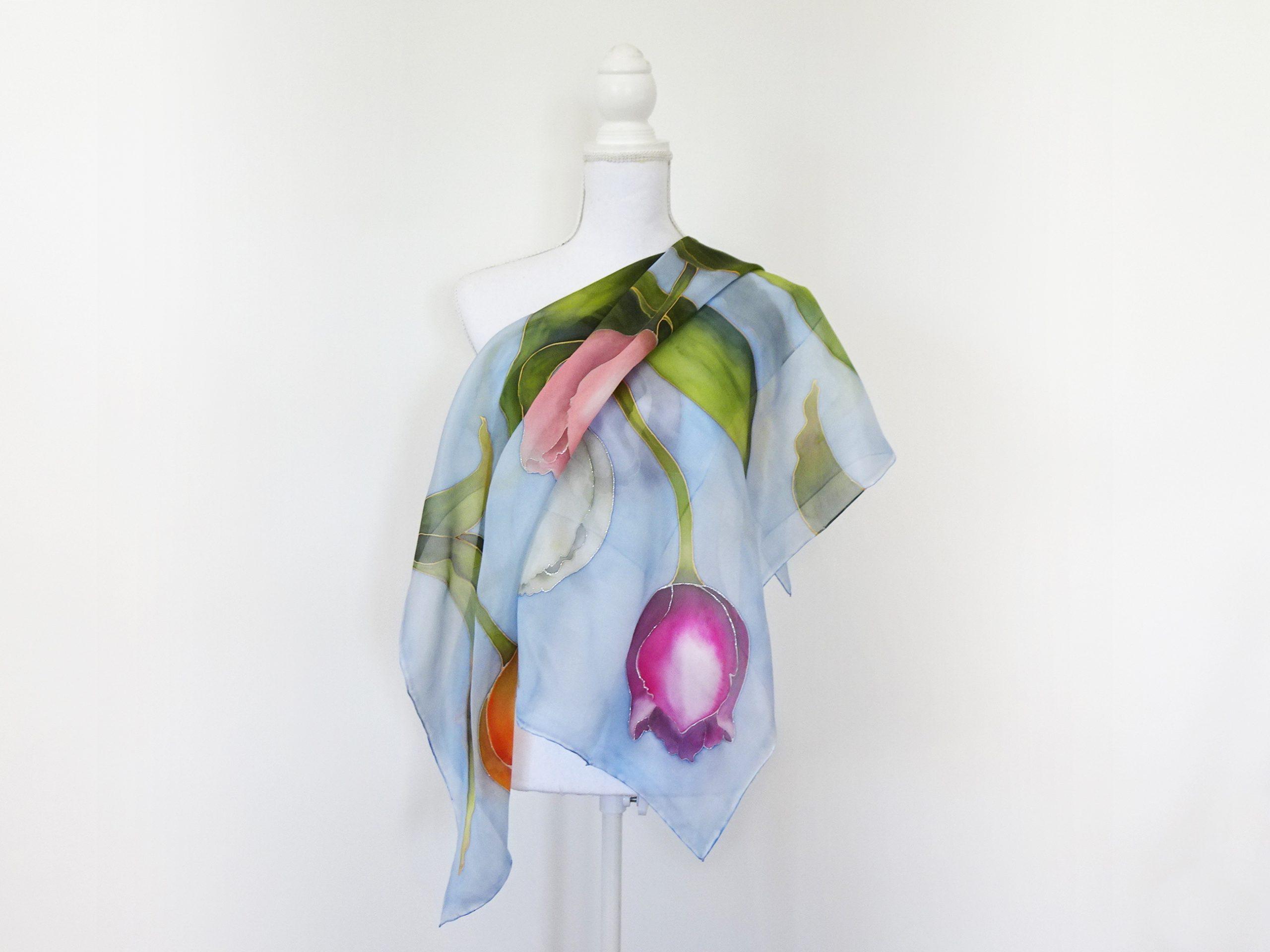 Foulard-tulipani-fondo-azzurro-7